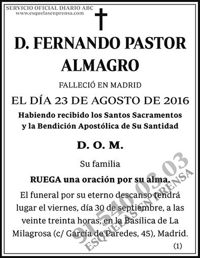 Fernando Pastor Almagro